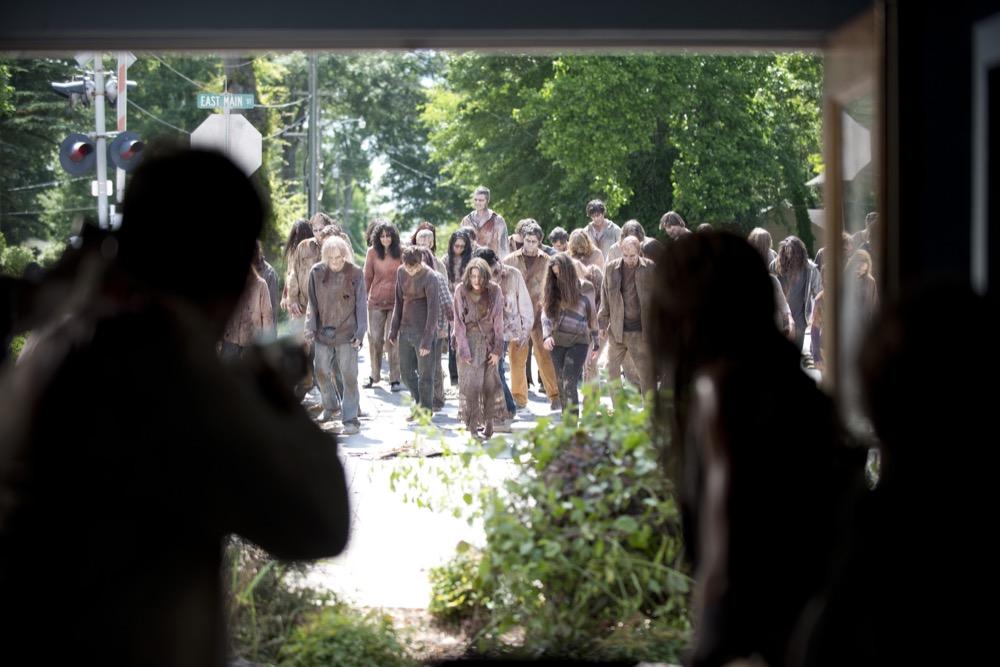 Walkers - The Walking Dead _ Season 6, Episode 3 - Photo Credit: Gene Page/AMC
