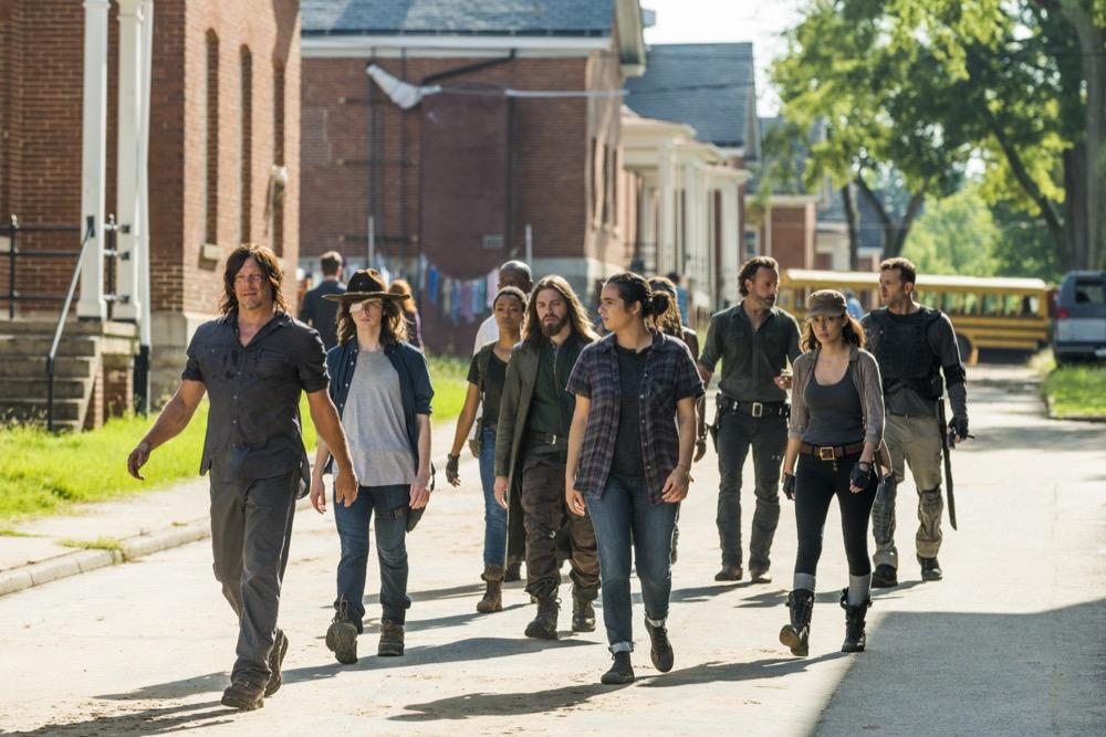 Pick a Walking Dead character.