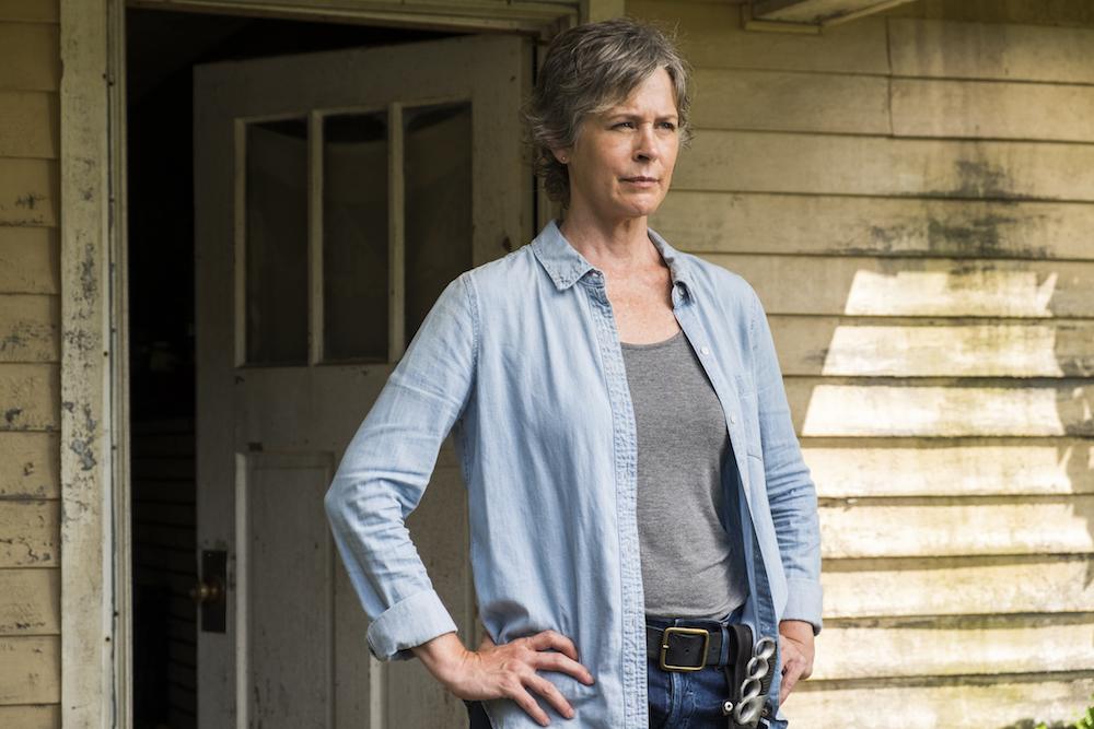 Who eventually tells Carol about Glenn and Abe?