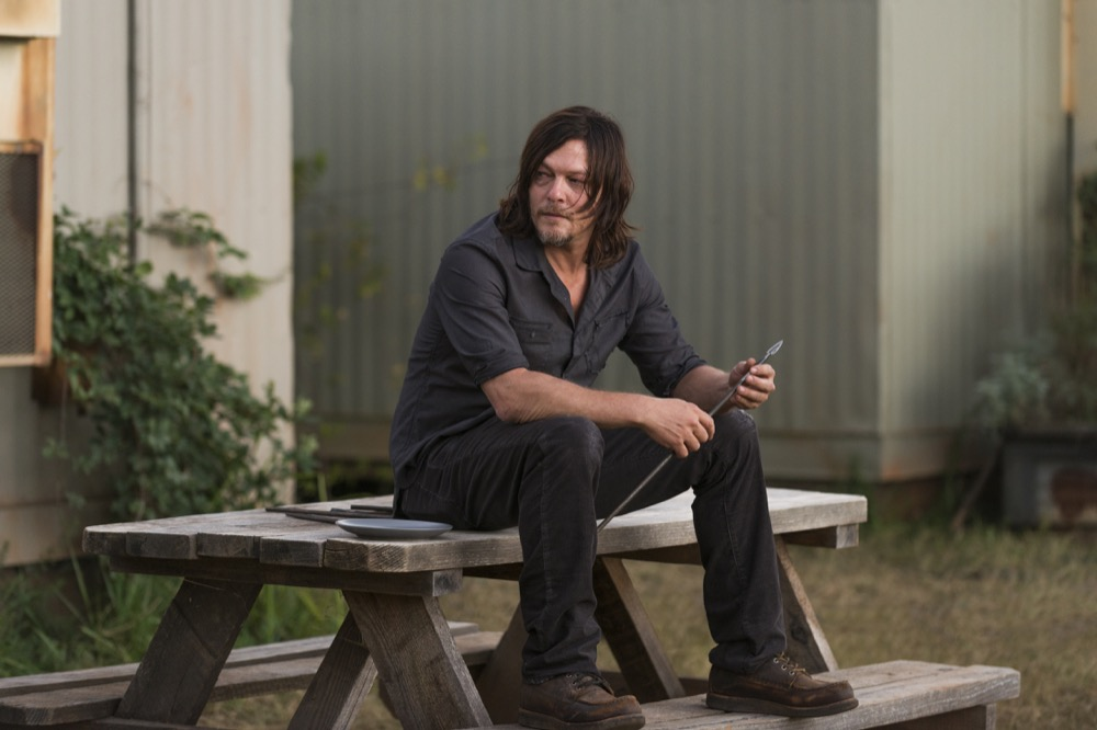 Norman Reedus as Daryl Dixon - The Walking Dead _ Season 7, Episode 13 - Photo Credit: Gene Page/AMC