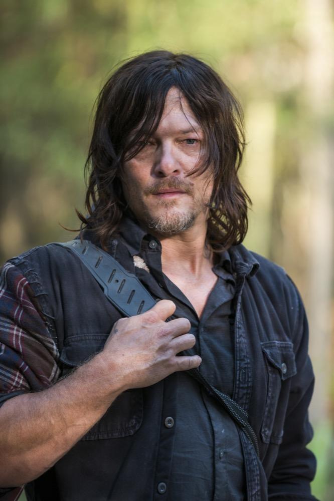 Norman Reedus as Daryl Dixon- The Walking Dead _ Season 7, Episode 15 - Photo Credit: Gene Page/AMC