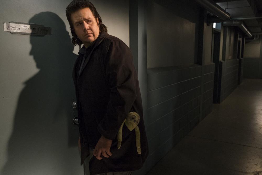 Josh McDermitt as Dr. Eugene Porter- The Walking Dead _ Season 7, Episode 15 - Photo Credit: Gene Page/AMC