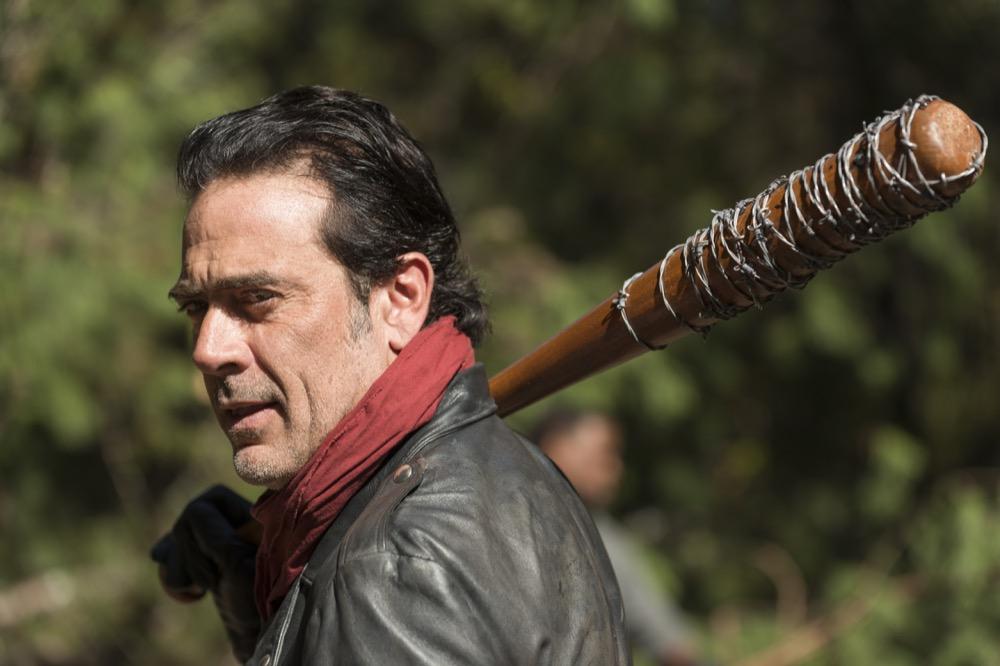 Jeffrey Dean Morgan as Negan- The Walking Dead _ Season 7, Episode 16 - Photo Credit: Gene Page/AMC