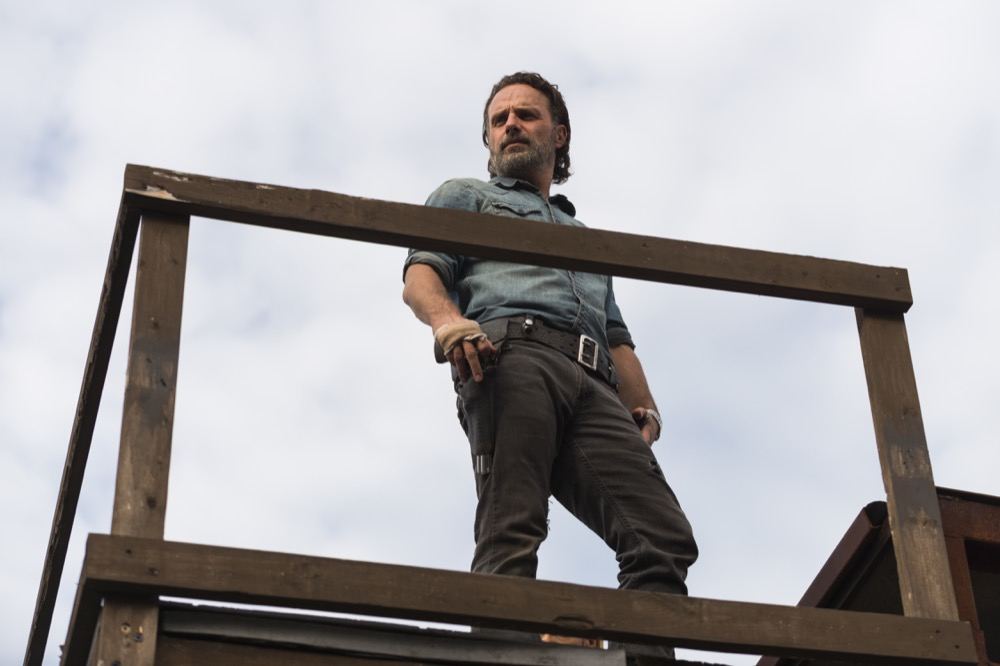 Andrew Lincoln as Rick Grimes- The Walking Dead _ Season 7, Episode 16 - Photo Credit: Gene Page/AMC