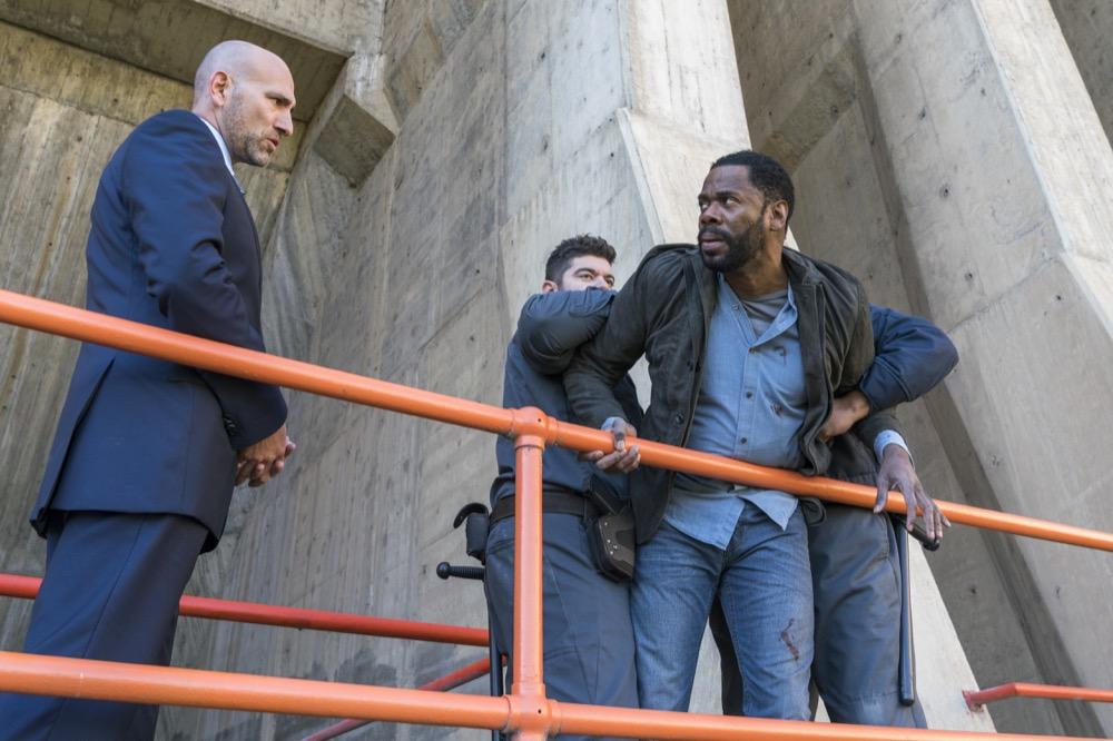 Colman Domingo as Victor Strand; group- Fear the Walking Dead _ Season 3, Episode 3 - Photo Credit: Michael Desmond/AMC