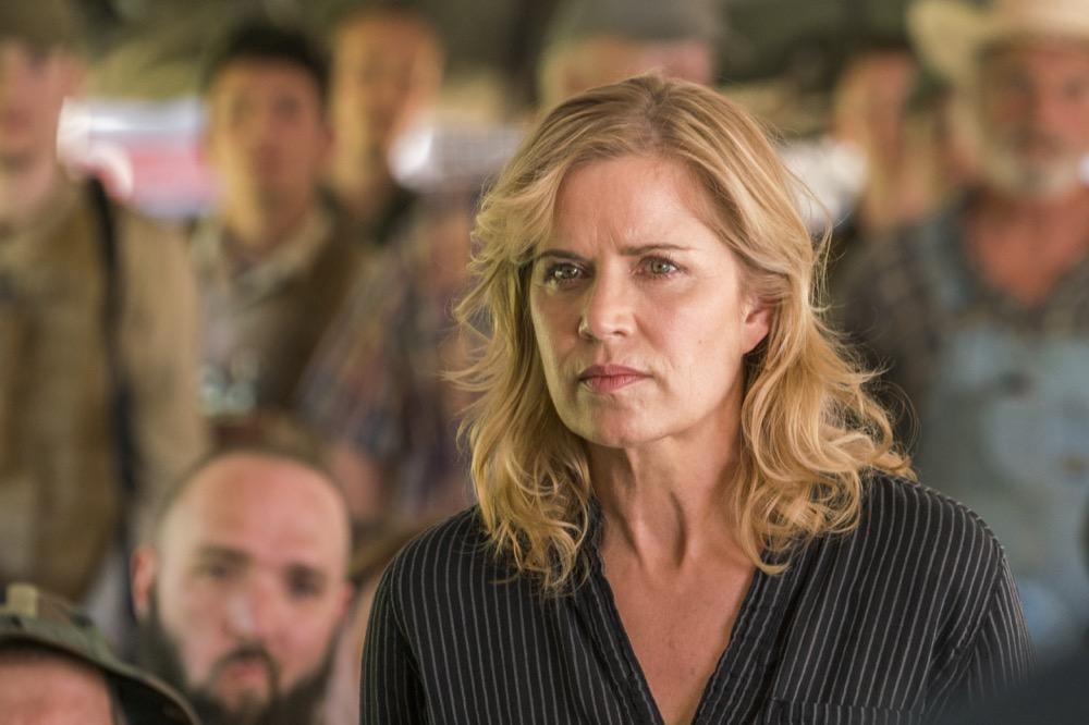 Kim Dickens as Madison Clark- Fear the Walking Dead _ Season 3, Episode 3 - Photo Credit: Michael Desmond/AMC