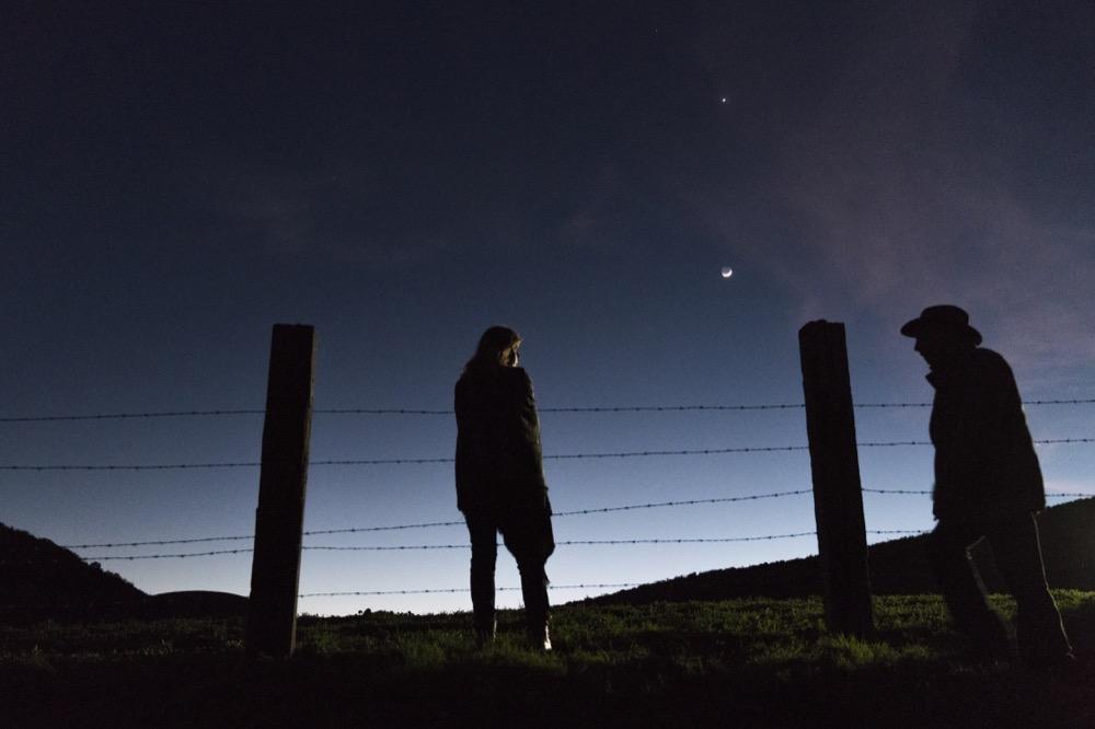 Kim Dickens as Madison Clark, Dayton Callie as Jeremiah Otto- Fear the Walking Dead _ Season 3, Episode 3 - Photo Credit: Michael Desmond/AMC