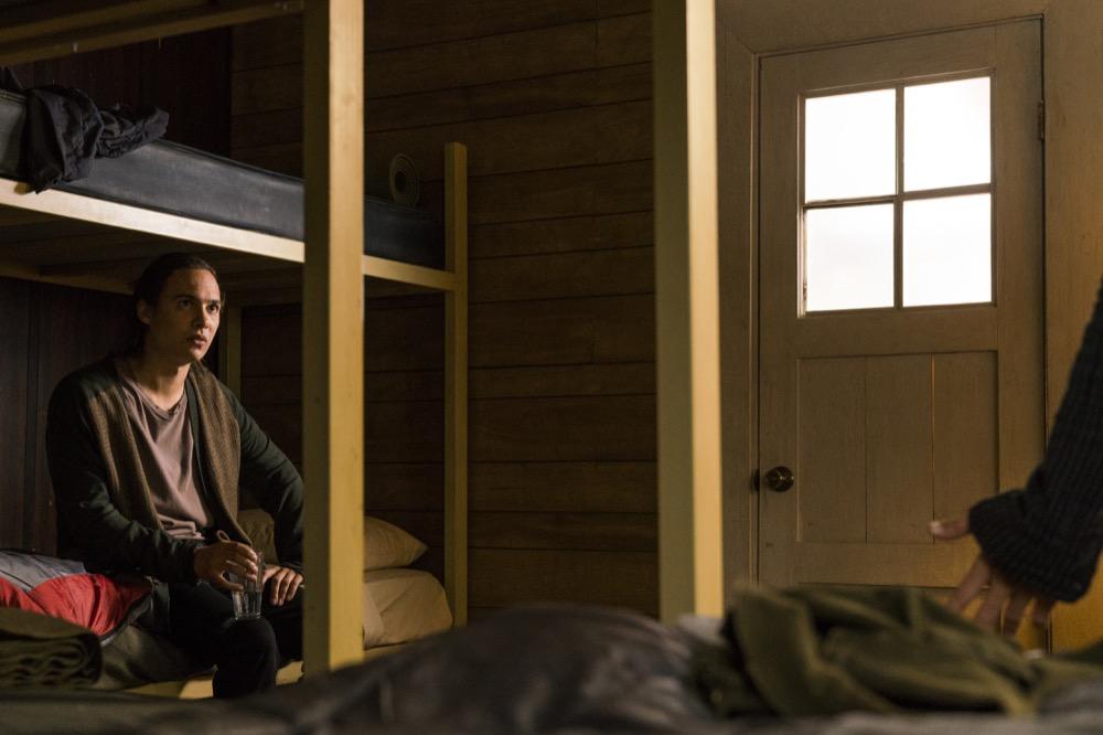 Frank Dillane as Nick Clark- Fear the Walking Dead _ Season 3, Episode 3 - Photo Credit: Michael Desmond/AMC