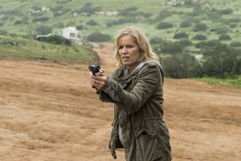 Kim Dickens as Madison Clark - Fear the Walking Dead _ Season 3, Episode 5 - Photo Credit: Richard Foreman, Jr/AMC
