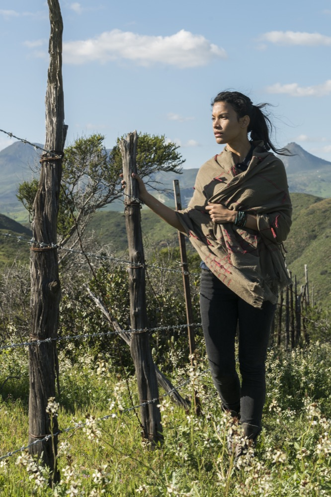 Danay Garcia as Luciana - Fear the Walking Dead _ Season 3, Episode 5 - Photo Credit: Richard Foreman, Jr/AMC