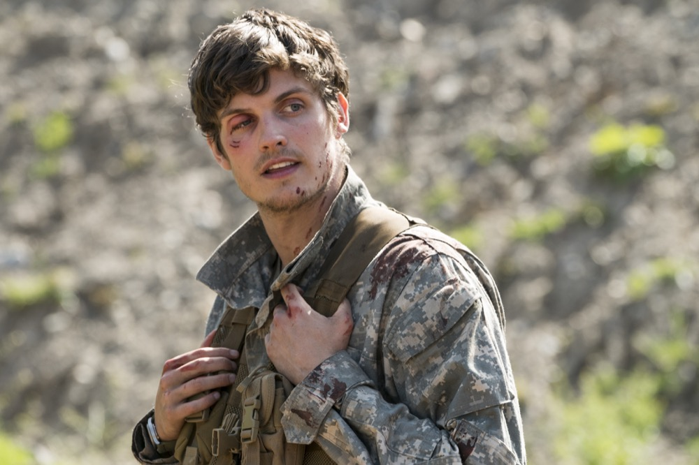 Daniel Sharman as Troy Otto - Fear the Walking Dead _ Season 3, Episode 5 - Photo Credit: Richard Foreman, Jr/AMC