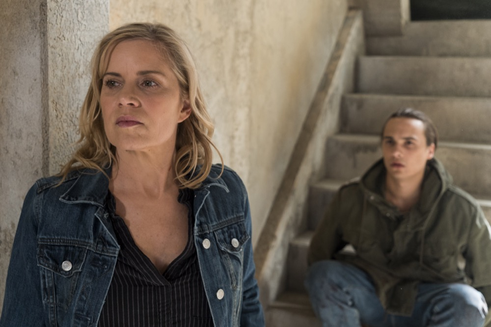 Kim Dickens as Madison Clark, Frank Dillane as Nick Clark - Fear the Walking Dead _ Season 3, Episode 6 - Photo Credit: Richard Foreman, Jr/AMC