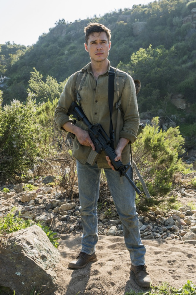 Sam Underwood as Jake Otto - Fear the Walking Dead _ Season 3, Episode 7 - Photo Credit: Richard Foreman, Jr/AMC