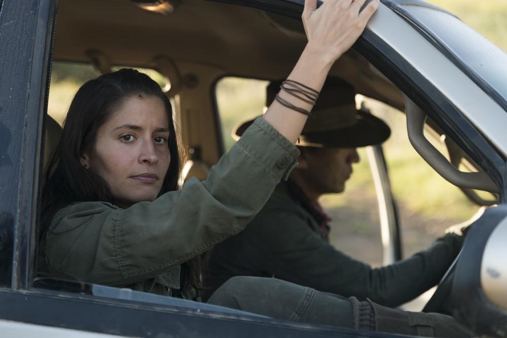 Mercedes Mason as Ofelia Salazar - Fear the Walking Dead _ Season 3, Episode 9 - Photo Credit: Richard Foreman, Jr/AMC