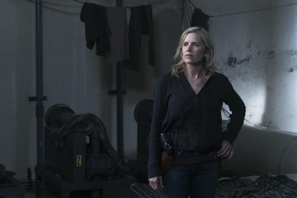 Kim Dickens as Madison Clark - Fear the Walking Dead _ Season 3, Episode 11 - Photo Credit: Richard Foreman, Jr/AMC