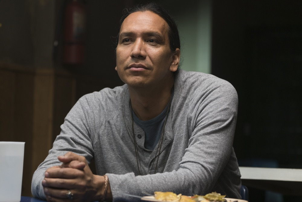 Michael Greyeyes as Qaletaqa Walker- Fear the Walking Dead _ Season 3, Episode 11 - Photo Credit: Richard Foreman, Jr/AMC