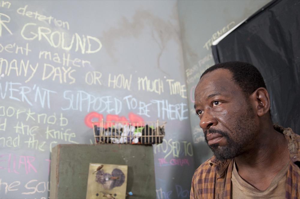"Morgan (Lennie James) - The Walking Dead_Season 3, Episode 12_""Clear"" - Photo Credit: Gene Page/AMC"