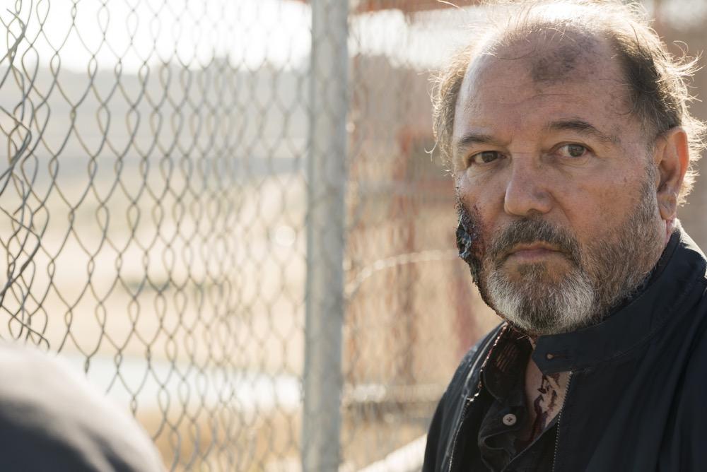Rubén Blades as Daniel Salazar - Fear the Walking Dead _ Season 3, Episode 16 - Photo Credit: Richard Foreman, Jr/AMC