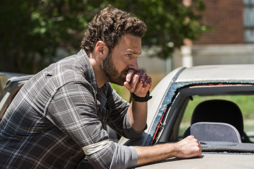 Ross Marquand as Aaron - The Walking Dead _ Season 8, Episode 3 - Photo Credit: Gene Page/AMC
