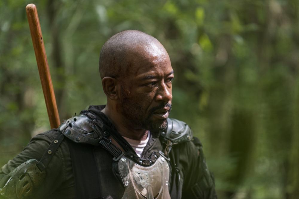 Lennie James as Morgan Jones - The Walking Dead _ Season 8, Episode 3 - Photo Credit: Gene Page/AMC
