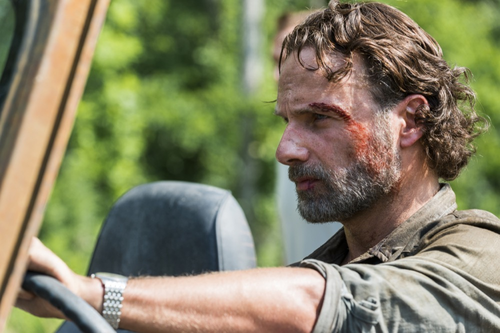 Andrew Lincoln as Rick Grimes - The Walking Dead _ Season 8, Episode 4 - Photo Credit: Gene Page/AMC