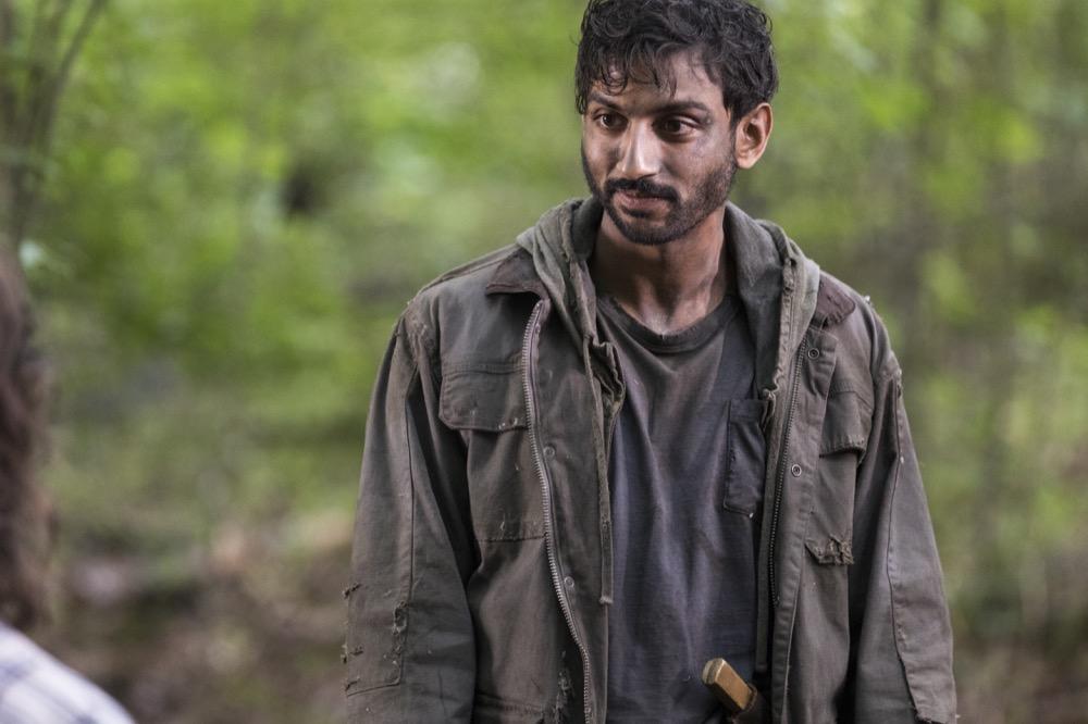 Avi Nash as Siddiq- The Walking Dead _ Season 8, Episode 6 - Photo Credit: Jackson Lee Davis/AMC