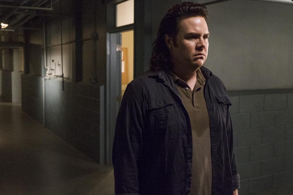 Josh McDermitt as Dr. Eugene Porter - The Walking Dead _ Season 8, Episode 7 - Photo Credit: Gene Page/AMC
