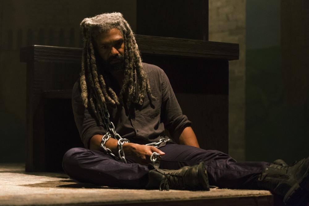 Khary Payton as Ezekiel - The Walking Dead _ Season 8, Episode 8 - Photo Credit: Gene Page/AMC
