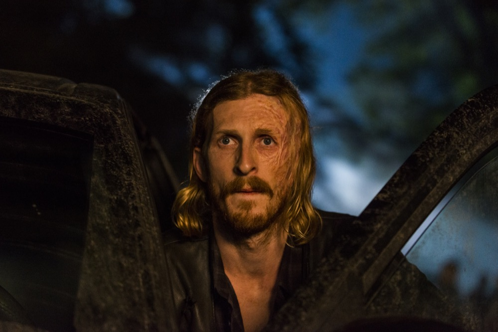 Austin Amelio as Dwight - The Walking Dead _ Season 8, Episode 8 - Photo Credit: Gene Page/AMC