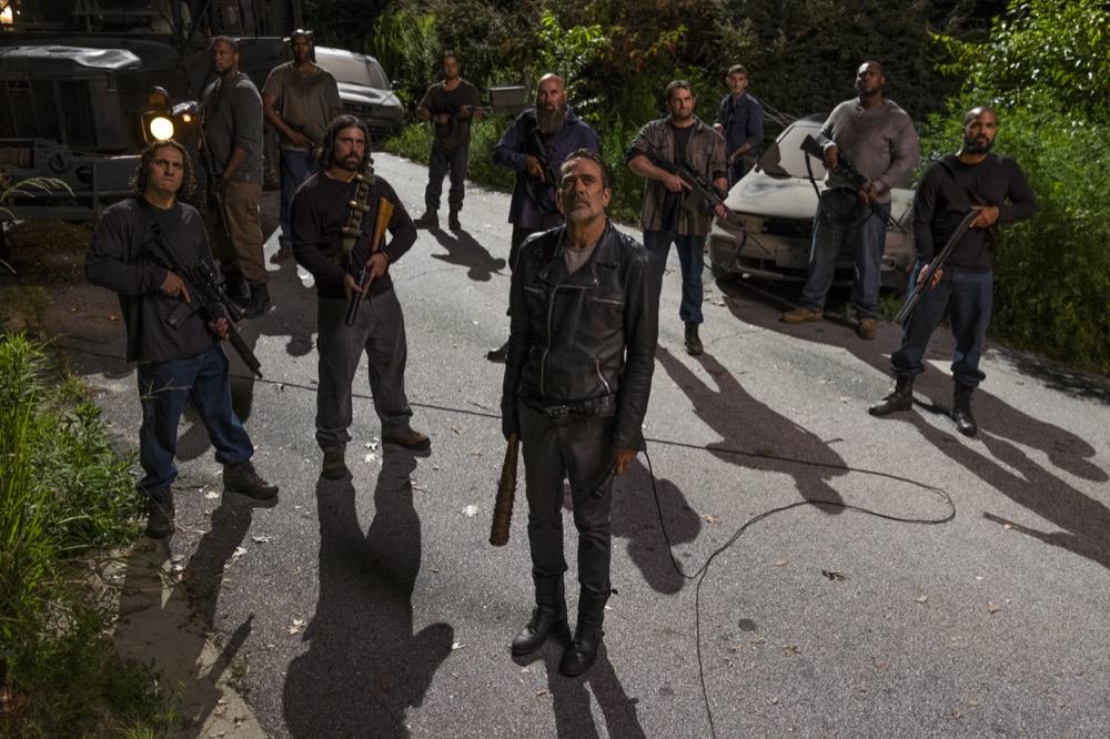 Jeffrey Dean Morgan as Negan, Saviors - The Walking Dead _ Season 8, Episode 8 - Photo Credit: Gene Page/AMC