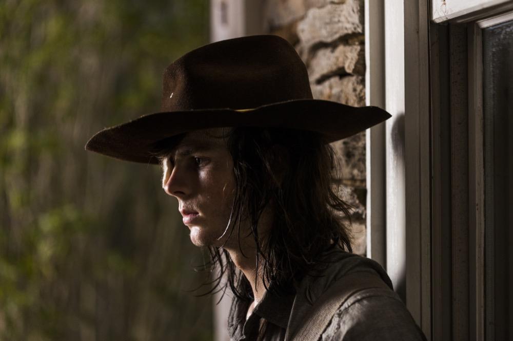 Chandler Riggs as Carl Grimes - The Walking Dead _ Season 8, Episode 8 - Photo Credit: Gene Page/AMC