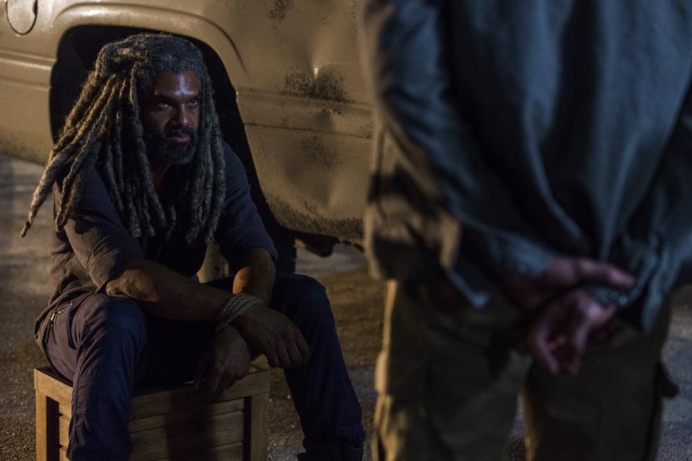Khary Payton as Ezekiel - The Walking Dead _ Season 8, Episode 9 - Photo Credit: Gene Page/AMC