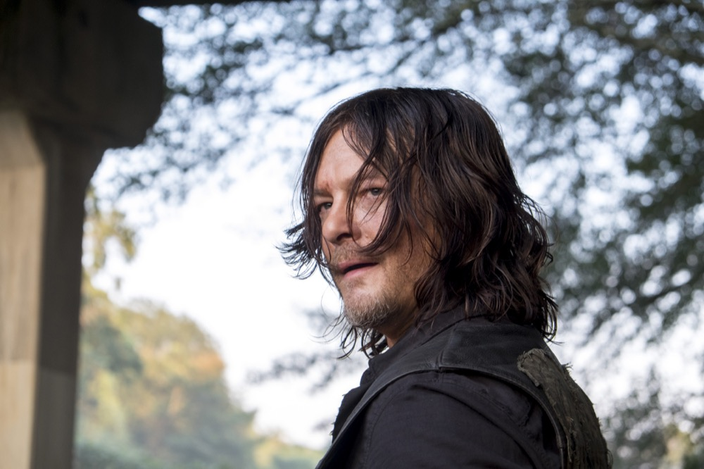 Norman Reedus as Daryl Dixon - The Walking Dead _ Season 8, Episode 11 - Photo Credit: Gene Page/AMC