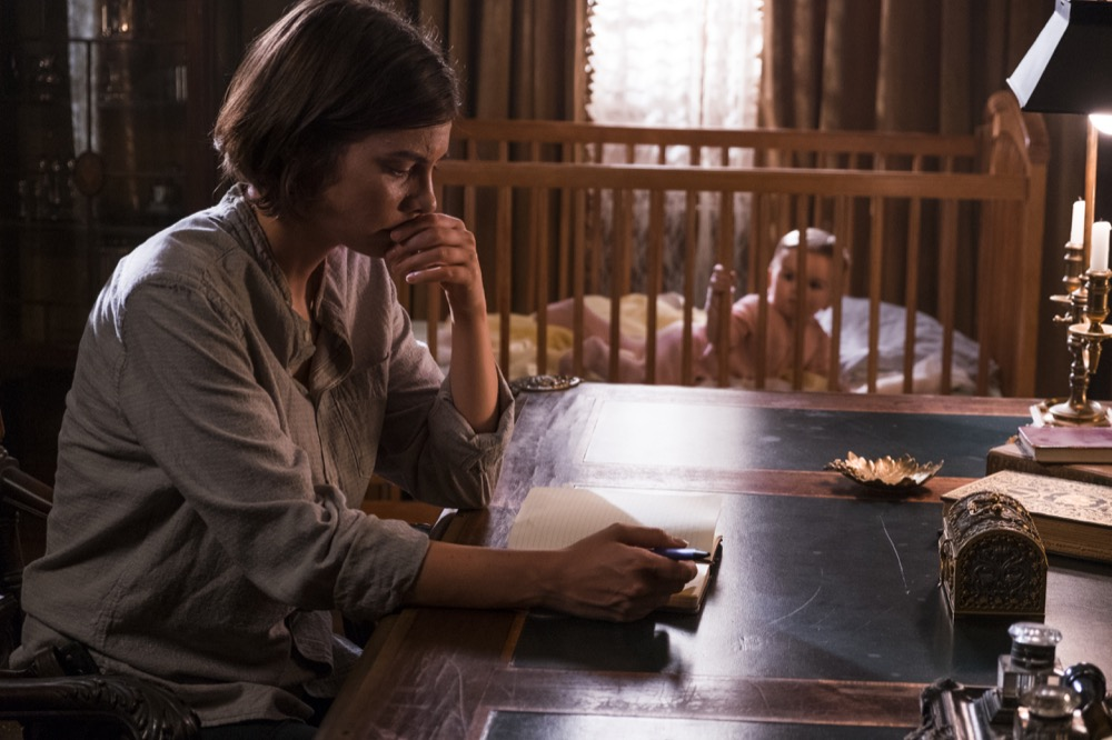 Lauren Cohan as Maggie Greene - The Walking Dead _ Season 8, Episode 11 - Photo Credit: Gene Page/AMC