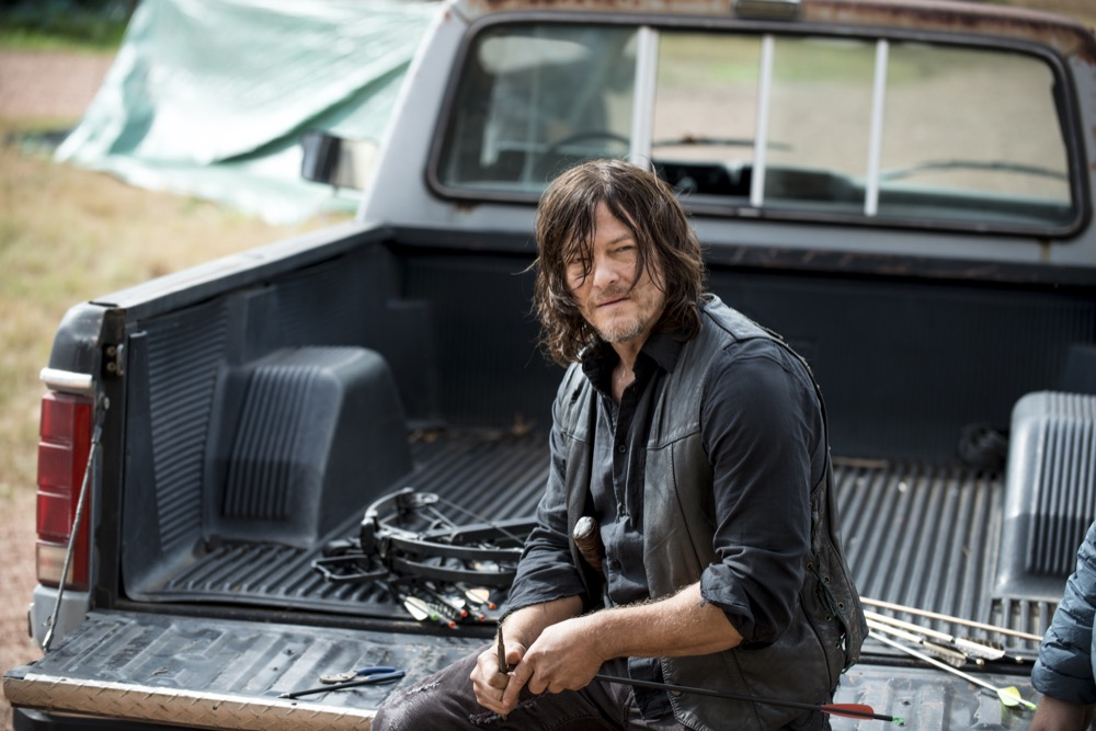 Norman Reedus as Daryl Dixon - The Walking Dead _ Season 8, Episode 14 - Photo Credit: Gene Page/AMC