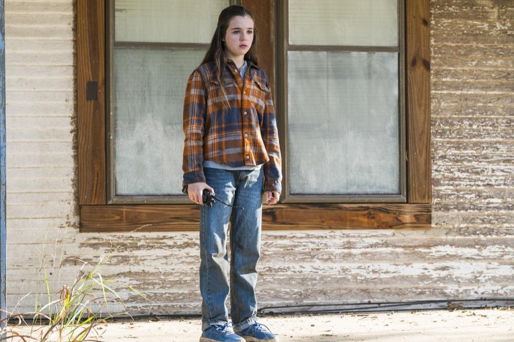 Alexa Nisenson as Charlie - Fear the Walking Dead _ Season 4, Episode 3 - Photo Credit: Richard Foreman, Jr/AMC