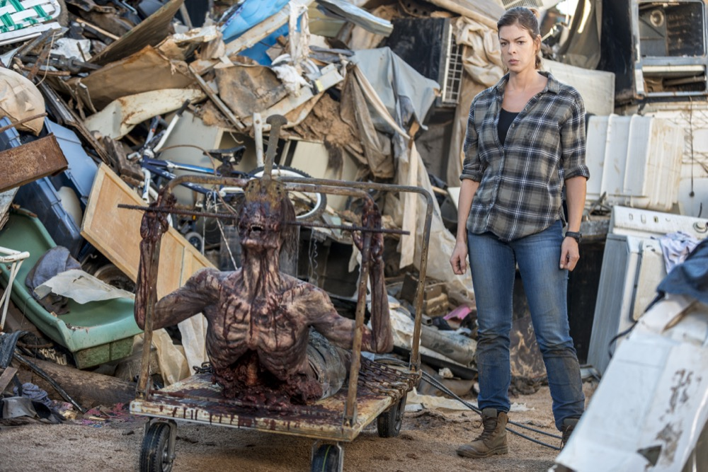 Pollyanna McIntosh as Jadis - The Walking Dead _ Season 8, Episode 14 - Photo Credit: Gene Page/AMC