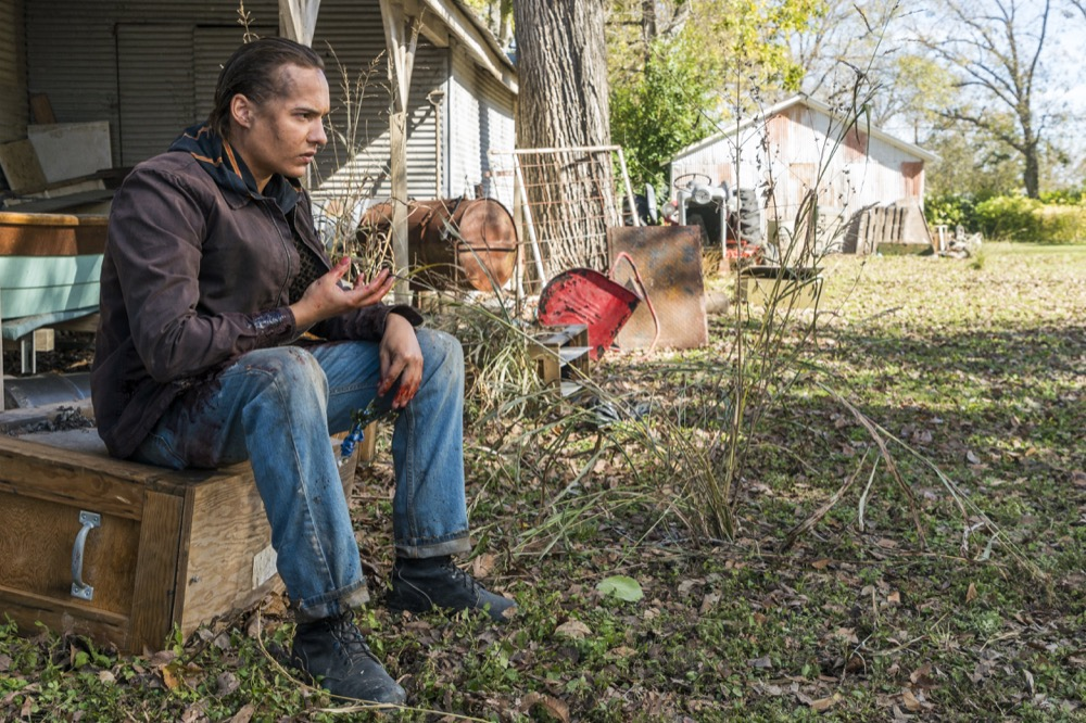 Frank Dillane as Nick Clark - Fear the Walking Dead _ Season 4, Episode 3 - Photo Credit: Richard Foreman, Jr/AMC