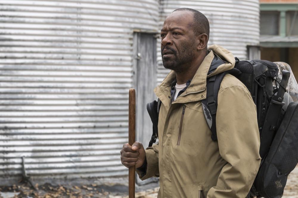 Lennie James as Morgan Jones - Fear the Walking Dead _ Season 4, Episode 3 - Photo Credit: Richard Foreman, Jr/AMC