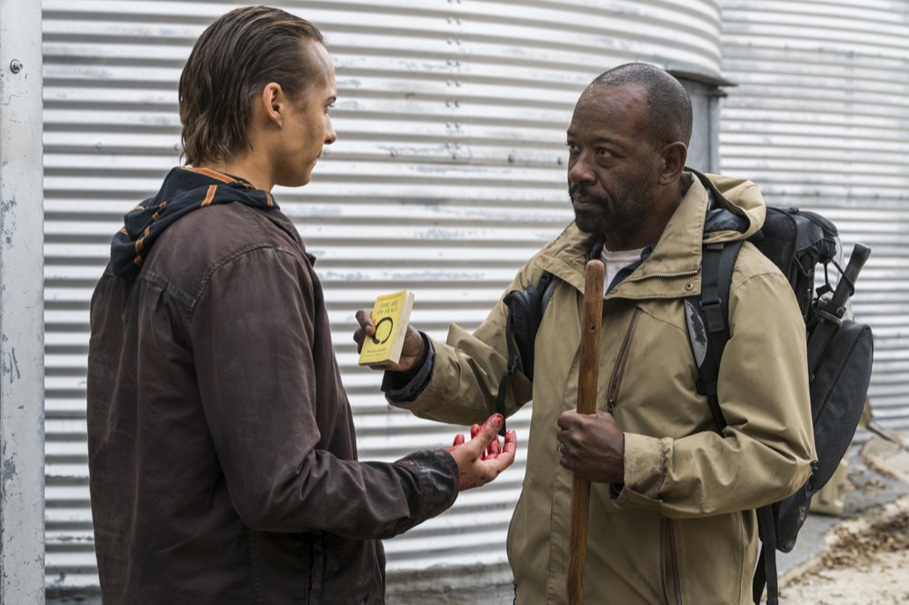 Lennie James as Morgan Jones, Frank Dillane as Nick Clark - Fear the Walking Dead _ Season 4, Episode 3 - Photo Credit: Richard Foreman, Jr/AMC