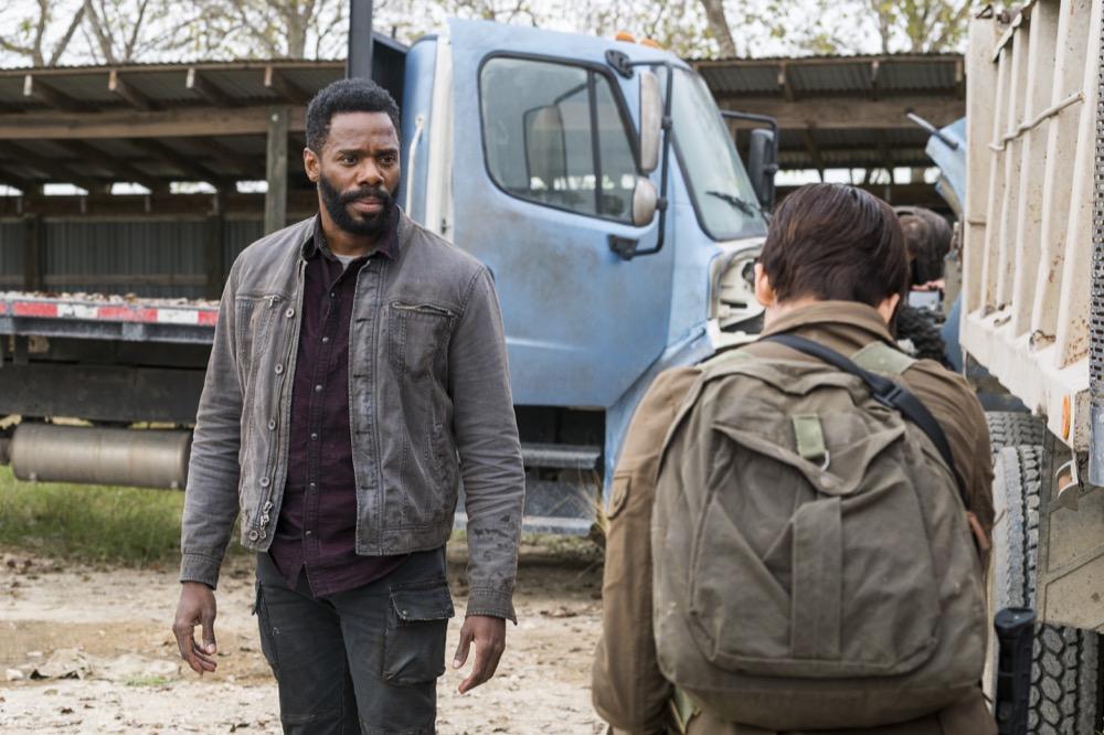 Maggie Grace as Althea, Colman Domingo as Victor Strand - Fear the Walking Dead _ Season 4, Episode 3 - Photo Credit: Richard Foreman, Jr/AMC