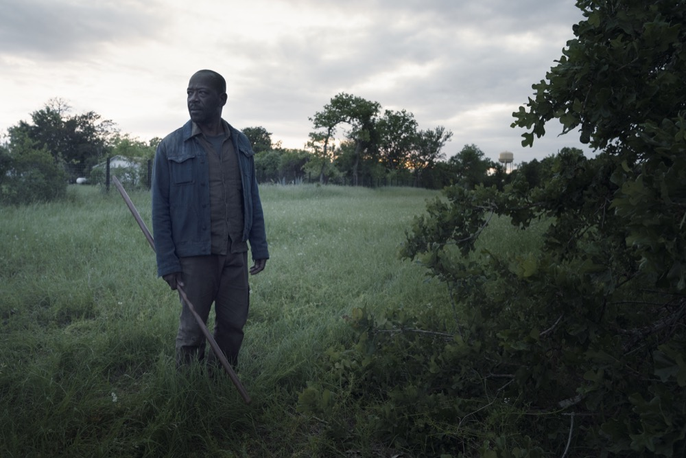 Lennie James as Morgan Jones - Fear the Walking Dead _ Season 4, Episode 12 - Photo Credit: Ryan Green/AMC