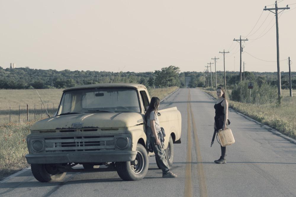 Alexa Nisenson as Charlie, Alycia Debnam-Carey as Alicia Clark- Fear the Walking Dead _ Season 4, Episode 14 - Photo Credit: Ryan Green/AMC