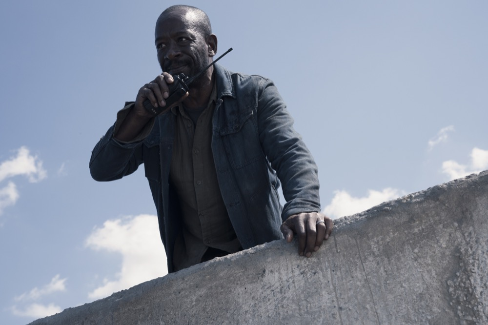 Lennie James as Morgan Jones - Fear the Walking Dead _ Season 4, Episode 15 - Photo Credit: Ryan Green/AMC