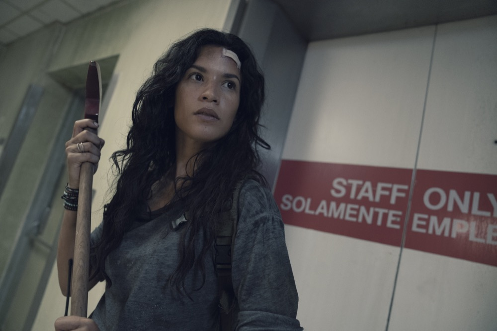 Danay Garcia as Luciana - Fear the Walking Dead _ Season 4, Episode 15 - Photo Credit: Ryan Green/AMC