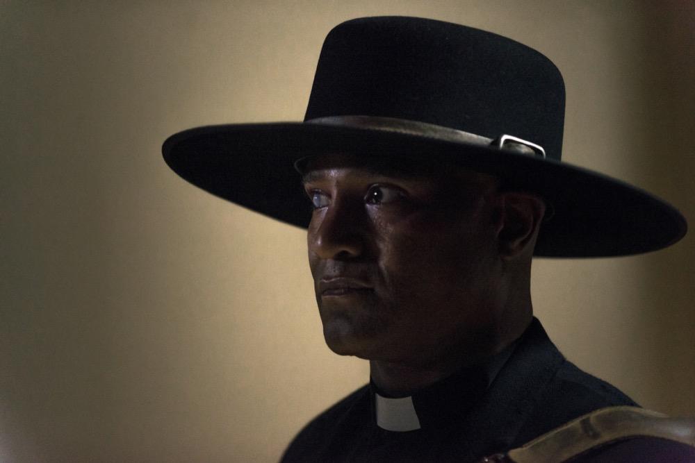 Seth Gilliam as Father Gabriel Stokes - The Walking Dead _ Season 9, Episode 1 - Photo Credit: Gene Page/AMC