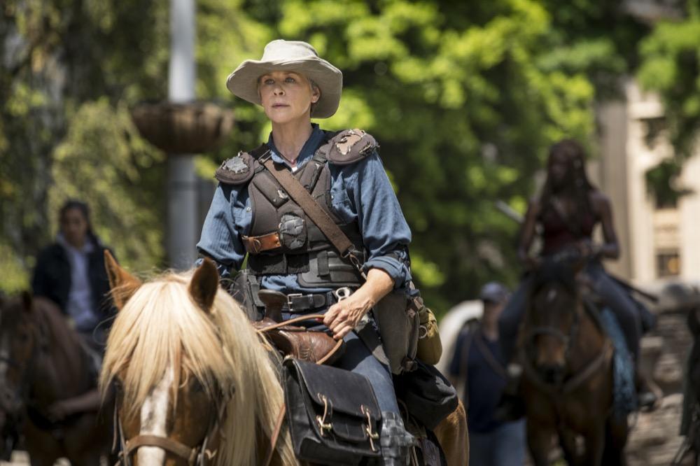Melissa McBride as Carol Peletier- The Walking Dead _ Season 9, Episode 1 - Photo Credit: Jackson Lee Davis/AMC
